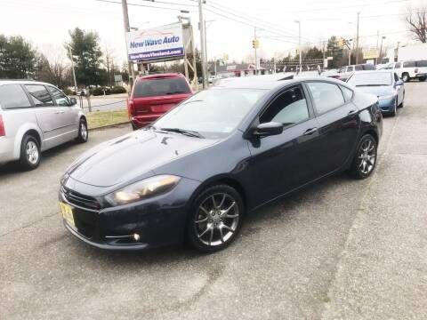 2013 Dodge Dart for sale at New Wave Auto of Vineland in Vineland NJ
