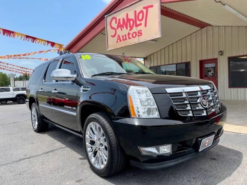 2010 Cadillac Escalade ESV for sale at Sandlot Autos in Tyler TX