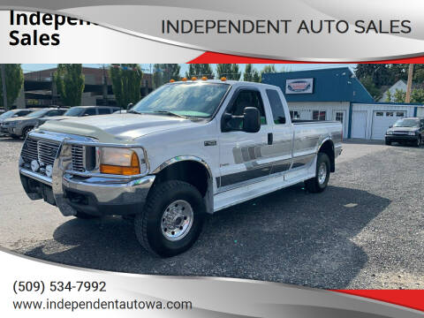1999 Ford F-250 Super Duty for sale at Independent Auto Sales in Spokane Valley WA