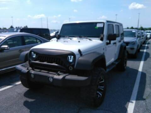 2012 Jeep Wrangler Unlimited for sale at Cj king of car loans/JJ's Best Auto Sales in Troy MI
