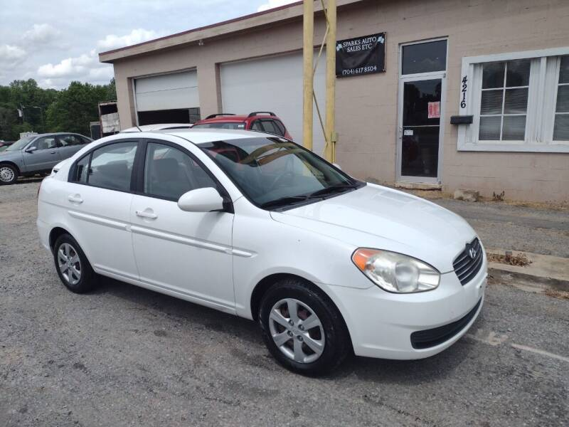 2008 Hyundai Accent for sale at Sparks Auto Sales Etc in Alexis NC