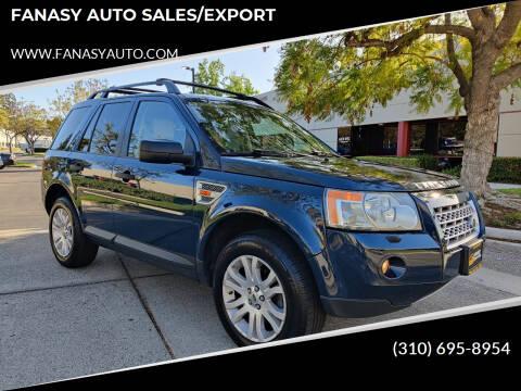 2008 Land Rover LR2 for sale at FANASY AUTO SALES/EXPORT in Yorba Linda CA