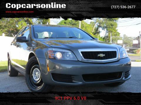 2013 Chevrolet Caprice for sale at Copcarsonline in Largo FL