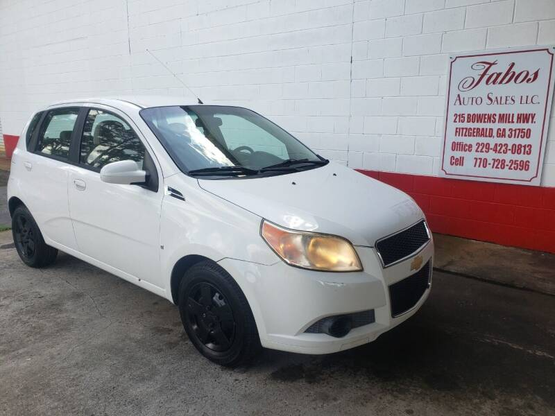 2009 Chevrolet Aveo for sale at Fabos Auto Sales LLC in Fitzgerald GA