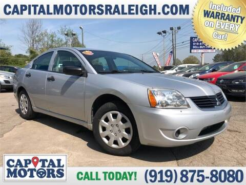 2007 Mitsubishi Galant for sale at Capital Motors in Raleigh NC