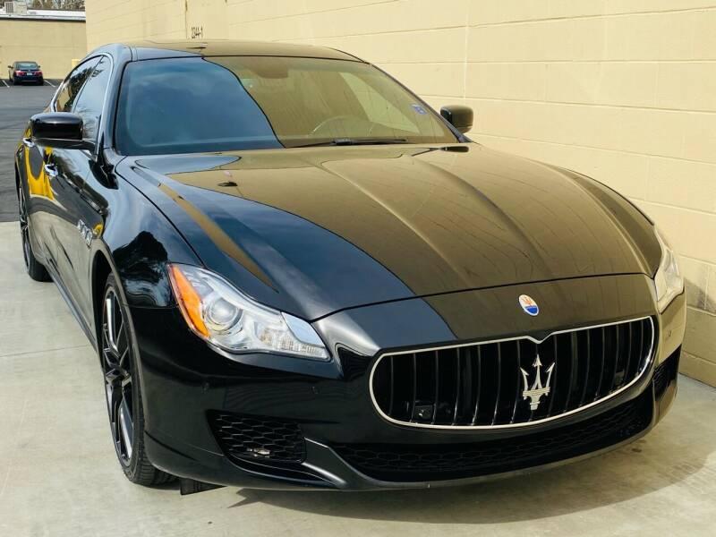 2014 Maserati Quattroporte for sale at Auto Zoom 916 Rancho Cordova in Rancho Cordova CA
