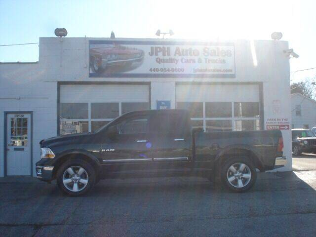 2009 Dodge Ram Pickup 1500 for sale at JPH Auto Sales in Eastlake OH
