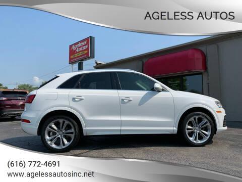 2018 Audi Q3 for sale at Ageless Autos in Zeeland MI