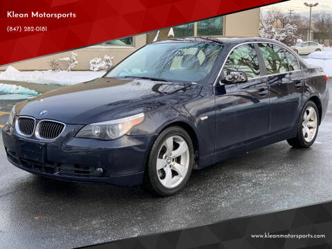 2007 BMW 5 Series for sale at Klean Motorsports in Skokie IL