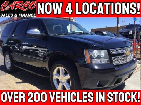 2014 Chevrolet Tahoe for sale at CARCO SALES & FINANCE - CARCO OF POWAY in Poway CA
