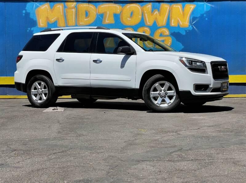 2016 GMC Acadia for sale at Midtown Motors in San Jose CA