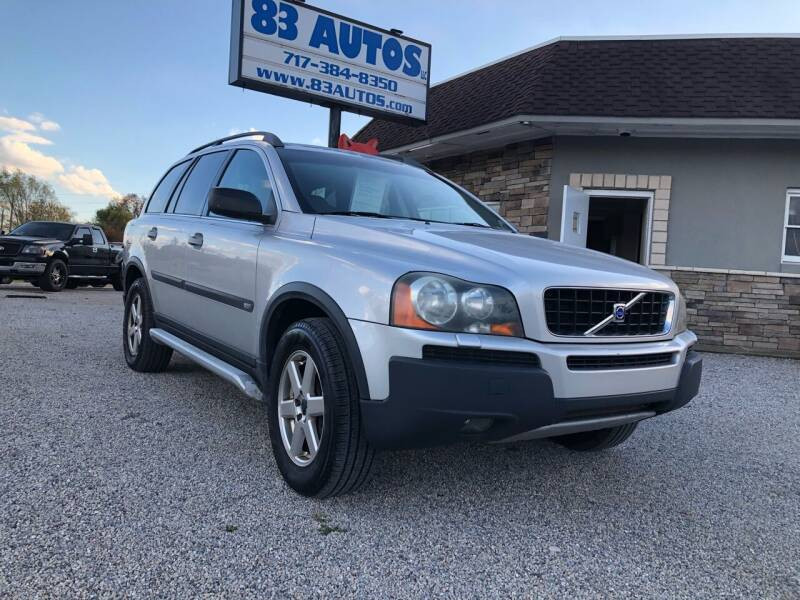 2004 Volvo XC90 for sale at 83 Autos in York PA
