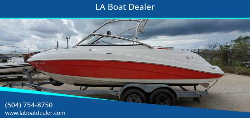 2009 Yamaha 23 Jet Boat for sale at LA Boat Dealer - Sport Boats in Metairie LA
