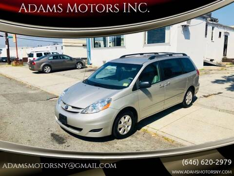 2007 Toyota Sienna for sale at Adams Motors INC. in Inwood NY