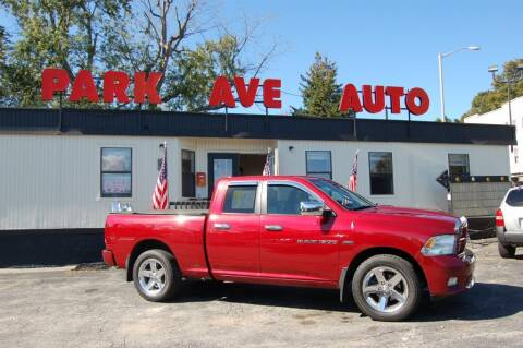 2011 RAM Ram Pickup 1500 for sale at Park Ave Auto Inc. in Worcester MA