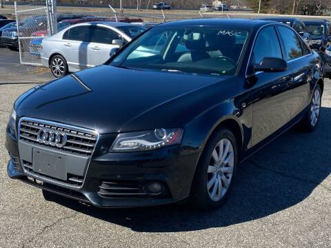 2011 Audi A4 for sale at MAGIC AUTO SALES in Little Ferry NJ