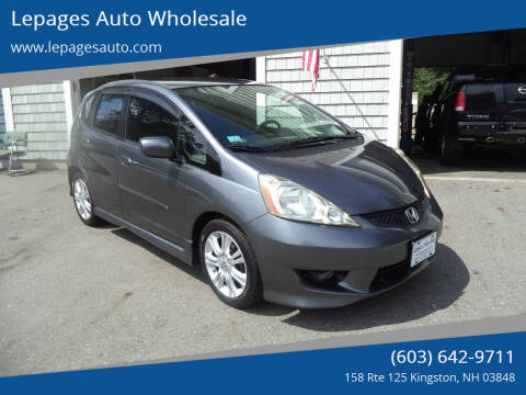 2011 Honda Fit for sale at Lepages Auto Wholesale in Kingston NH