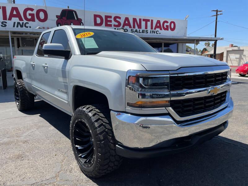 2018 Chevrolet Silverado 1500 for sale at DESANTIAGO AUTO SALES in Yuma AZ