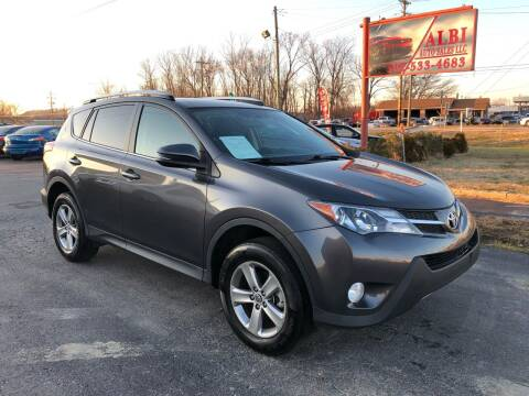 2015 Toyota RAV4 for sale at Albi Auto Sales LLC in Louisville KY