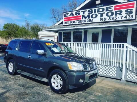 2006 Nissan Armada for sale at EASTSIDE MOTORS in Tulsa OK