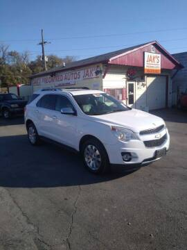 2010 Chevrolet Equinox for sale at Jak's Preowned Autos in Saint Joseph MO