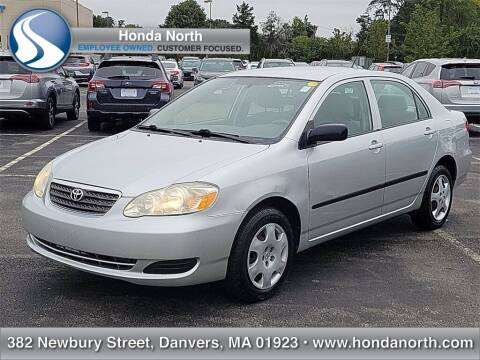 2007 Toyota Corolla for sale at 1 North Preowned in Danvers MA