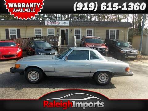 1984 Mercedes-Benz 380-Class for sale at Raleigh Imports in Raleigh NC