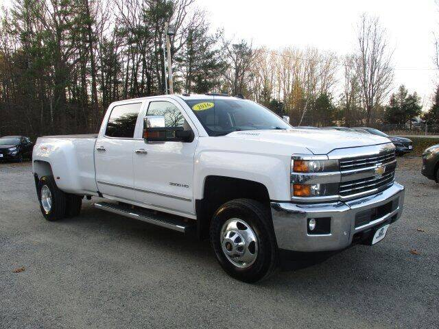 2016 Chevrolet Silverado 3500HD for sale at MC FARLAND FORD in Exeter NH