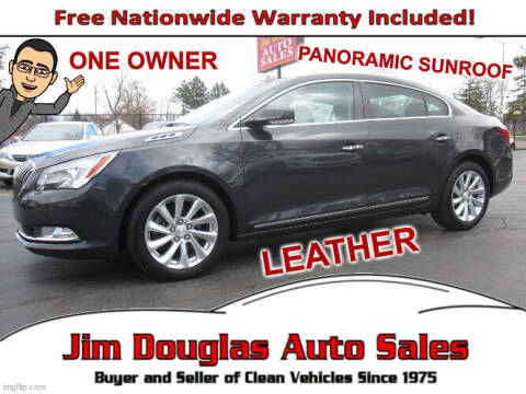 2015 Buick LaCrosse for sale at Jim Douglas Auto Sales in Pontiac MI