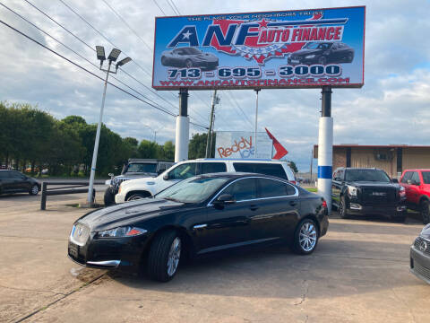 2013 Jaguar XF for sale at ANF AUTO FINANCE in Houston TX