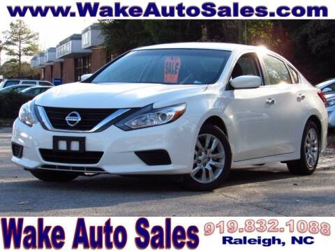 2018 Nissan Altima for sale at Wake Auto Sales Inc in Raleigh NC