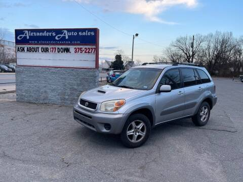 2005 Toyota RAV4 for sale at Alexander's Auto Sales in North Little Rock AR