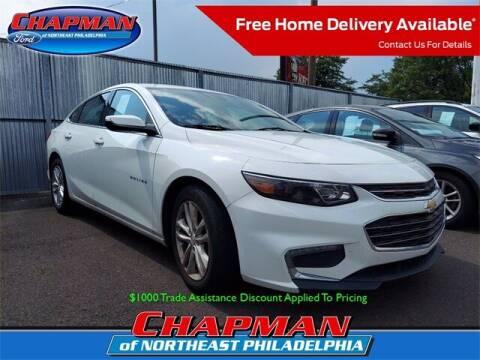 2016 Chevrolet Malibu for sale at CHAPMAN FORD NORTHEAST PHILADELPHIA in Philadelphia PA