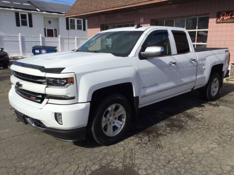 2016 Chevrolet Silverado 1500 for sale at Pat's Auto Sales, Inc. in West Springfield MA