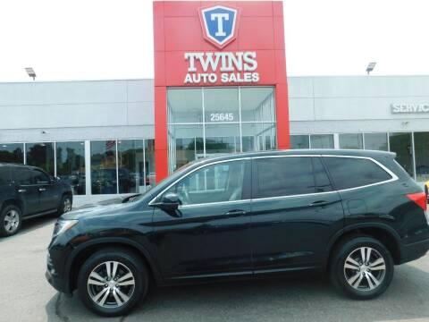 2017 Honda Pilot for sale at Twins Auto Sales Inc Redford 1 in Redford MI