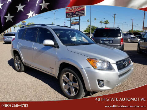 2009 Toyota RAV4 for sale at 48TH STATE AUTOMOTIVE in Mesa AZ