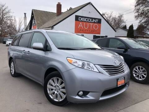 2017 Toyota Sienna for sale at Discount Auto Brokers Inc. in Lehi UT