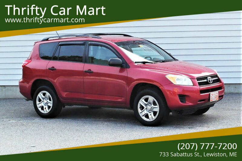 2009 Toyota RAV4 for sale at Thrifty Car Mart in Lewiston ME