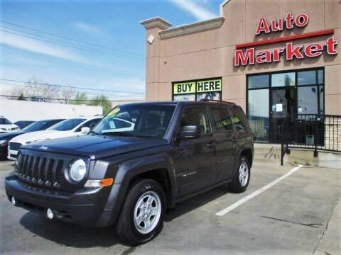 2015 Jeep Patriot for sale at Auto Market in Oklahoma City OK