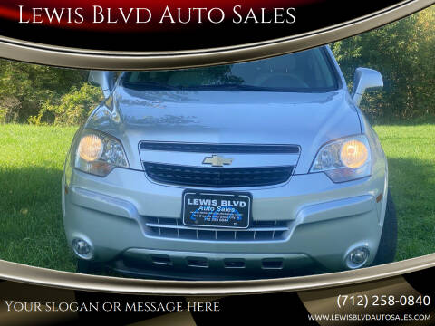 2013 Chevrolet Captiva Sport for sale at Lewis Blvd Auto Sales in Sioux City IA