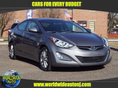 2014 Hyundai Elantra for sale at Worldwide Auto in Hamilton NJ