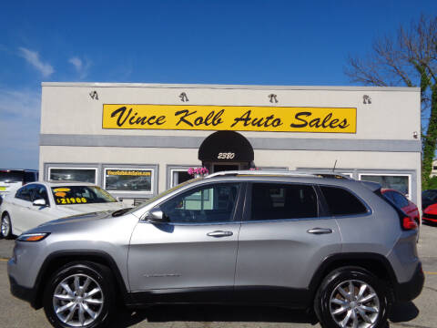 2018 Jeep Cherokee for sale at Vince Kolb Auto Sales in Lake Ozark MO