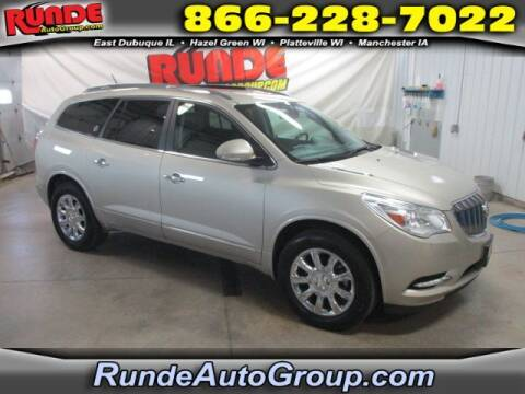 2015 Buick Enclave for sale at Runde Chevrolet in East Dubuque IL