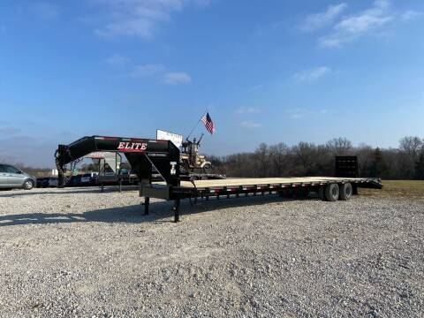 2021 Elite 40' Deck Over Gooseneck for sale at Ken's Auto Sales & Repairs in New Bloomfield MO