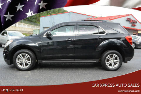 2013 Chevrolet Equinox for sale at Car Xpress Auto Sales in Pittsburgh PA