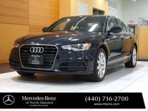 2013 Audi A6 for sale at Mercedes-Benz of North Olmsted in North Olmstead OH