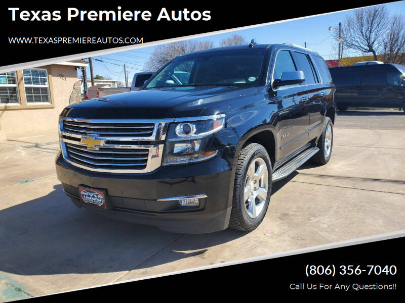 2015 Chevrolet Tahoe for sale at Texas Premiere Autos in Amarillo TX