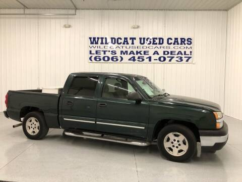 2005 Chevrolet Silverado 1500 for sale at Wildcat Used Cars in Somerset KY