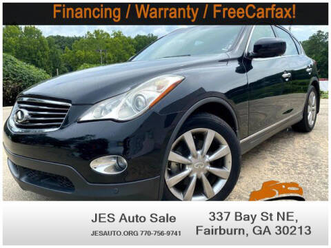 2008 Infiniti EX35 for sale at JES Auto Sales LLC in Fairburn GA