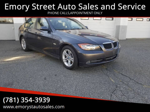 2008 BMW 3 Series for sale at Emory Street Auto Sales and Service in Attleboro MA